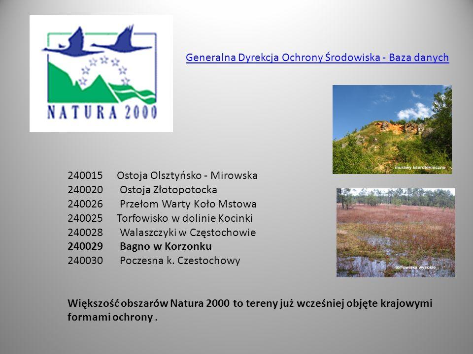 Generalna Dyrekcja Ochrony Środowiska - Baza danych