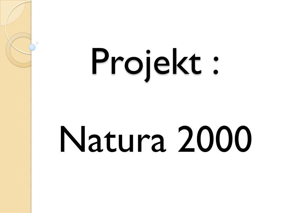 Projekt : Natura 2000
