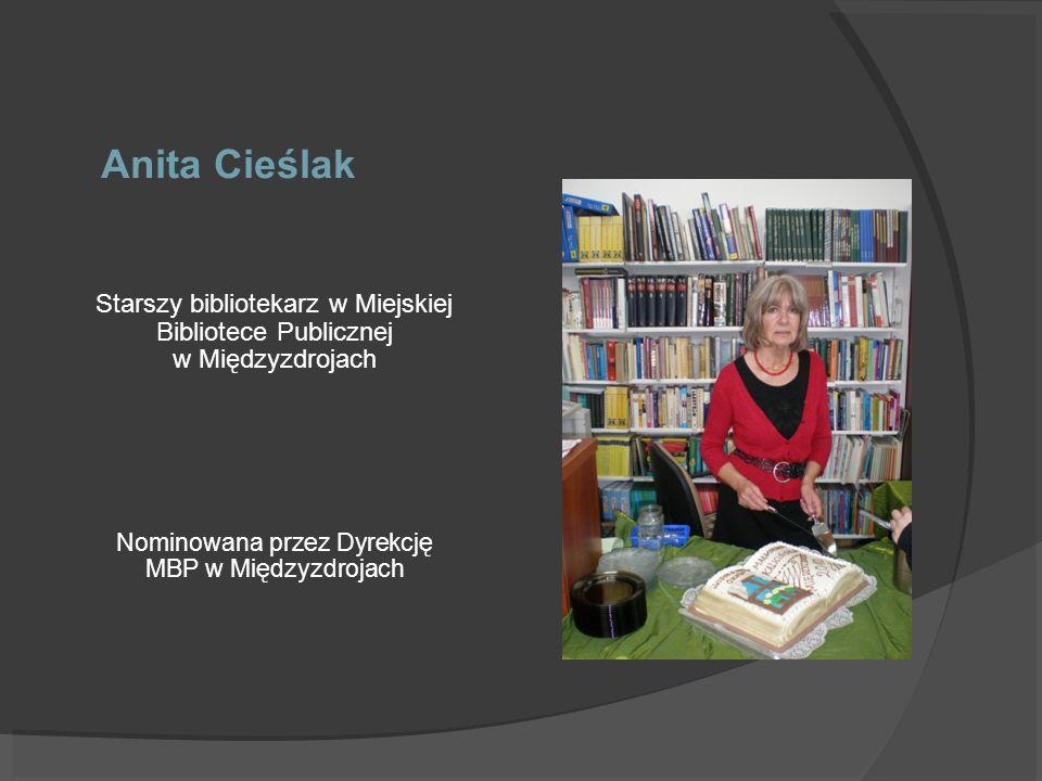 Nominowana przez Dyrekcję MBP w Międzyzdrojach