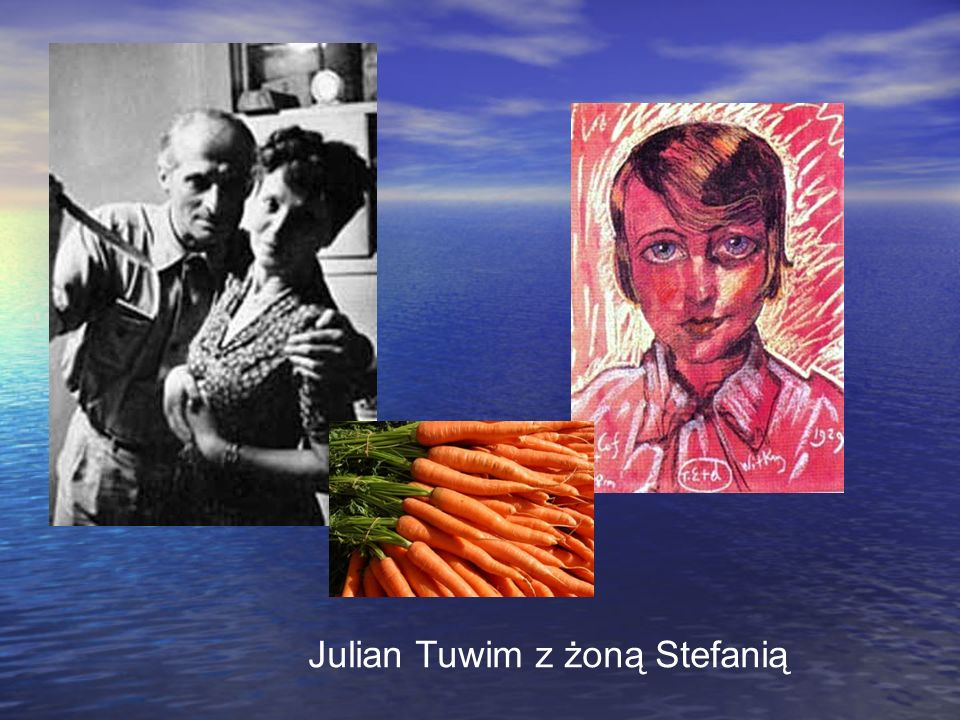 Julian Tuwim z żoną Stefanią