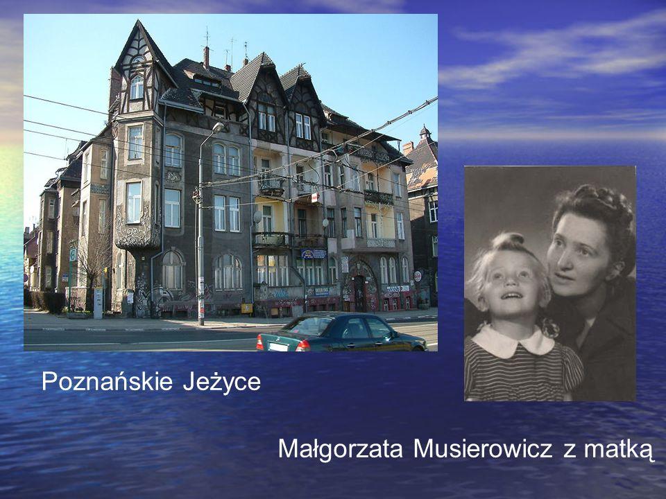 Poznańskie Jeżyce Małgorzata Musierowicz z matką