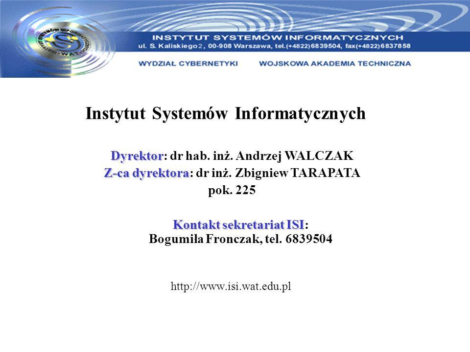 Instytut Systemów Informatycznych