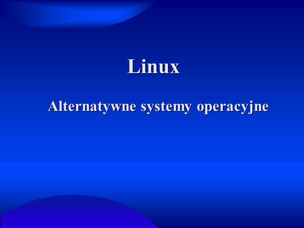 Alternatywne systemy operacyjne