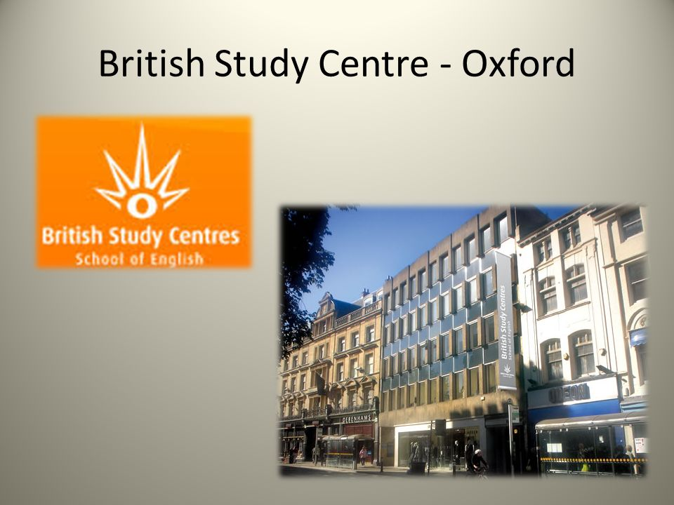 British Study Centre - Oxford