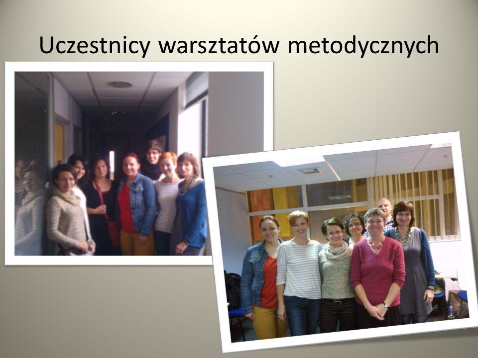 Uczestnicy warsztatów metodycznych