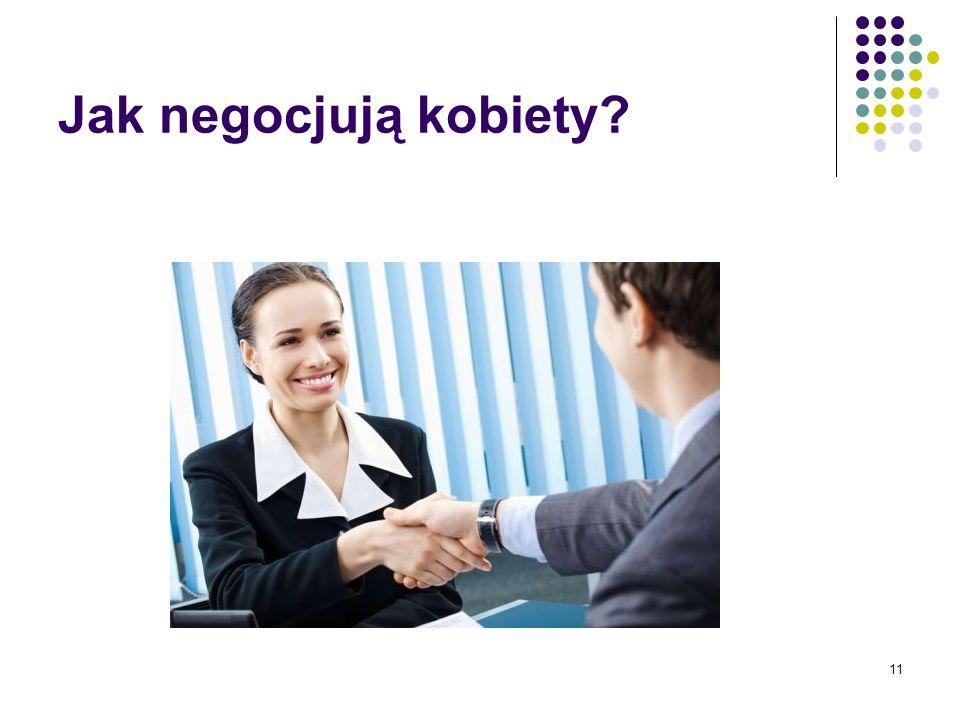 Jak negocjują kobiety