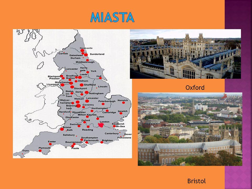 Miasta Oxford Bristol