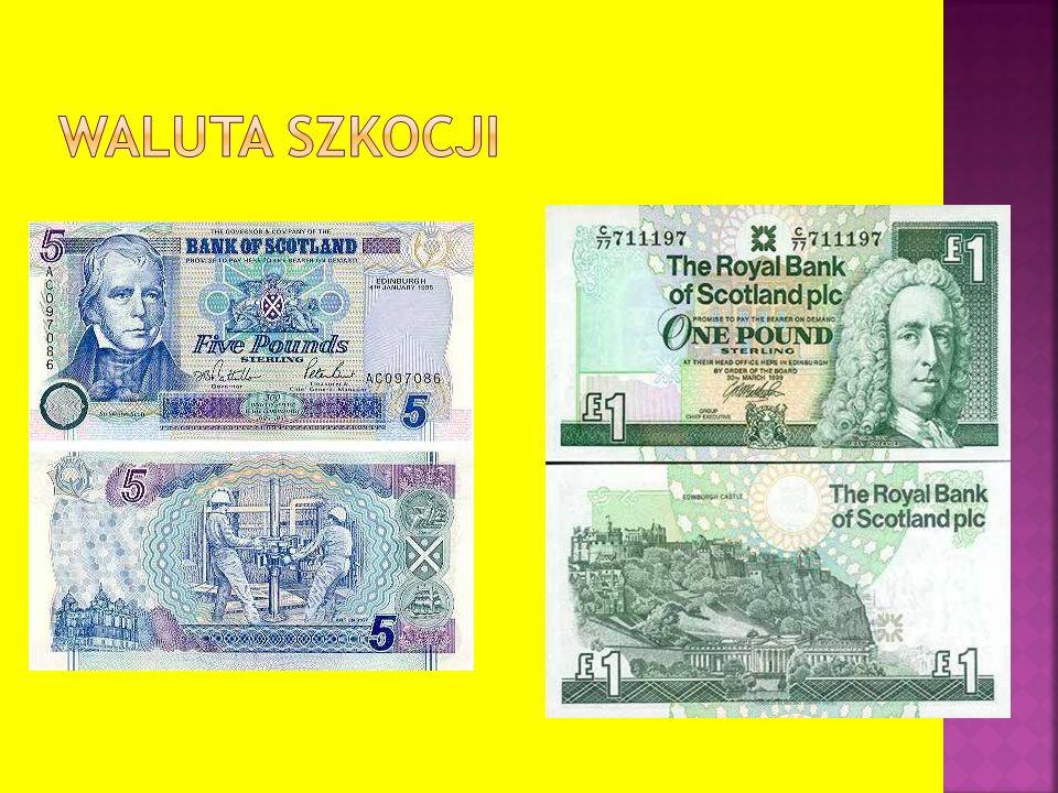 Waluta Szkocji