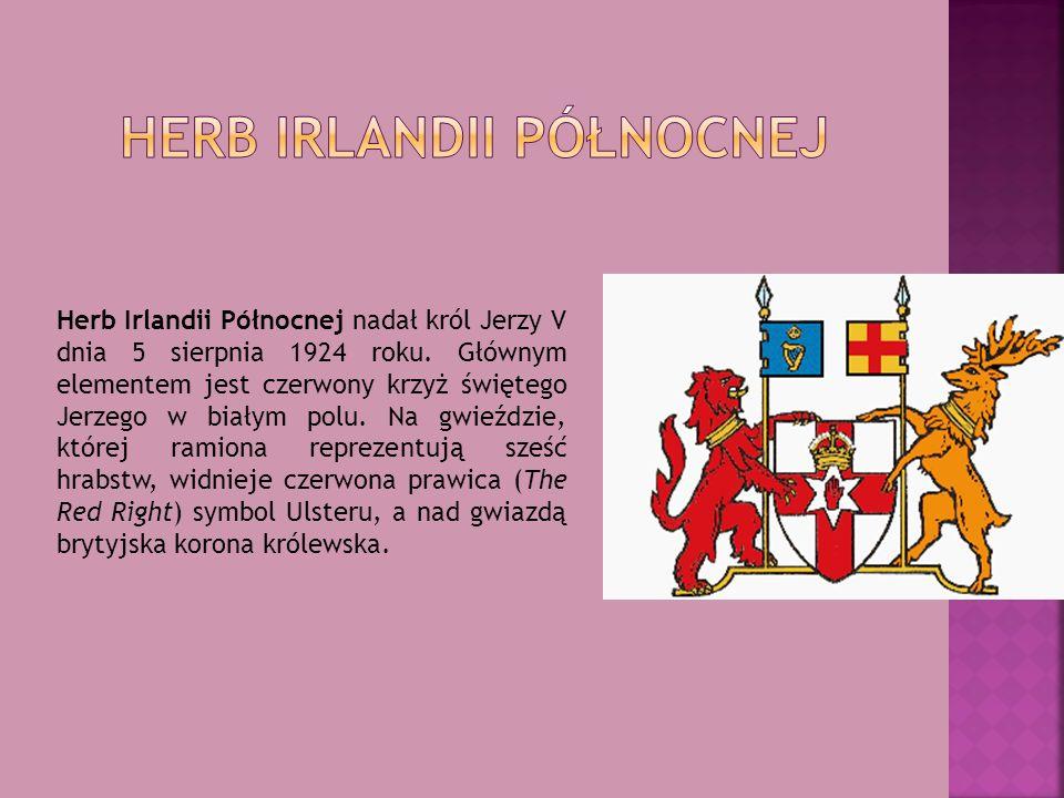 Herb Irlandii Północnej