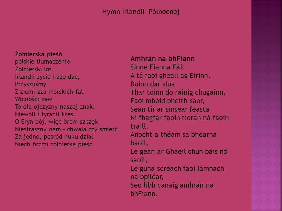 Hymn Irlandii Północnej