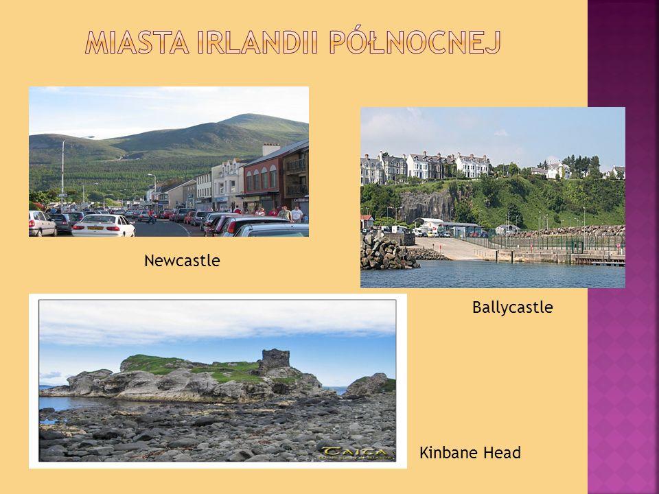 Miasta Irlandii Północnej