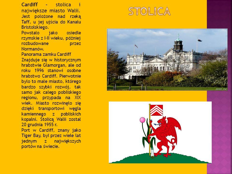 Cardiff – stolica i największe miasto Walii