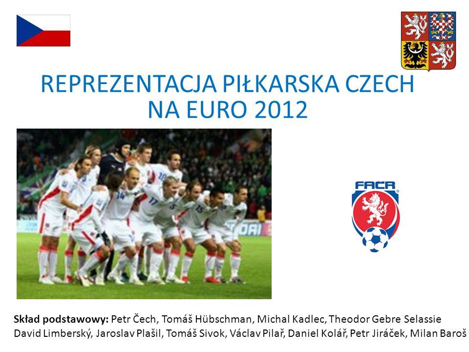 REPREZENTACJA PIŁKARSKA CZECH NA EURO 2012