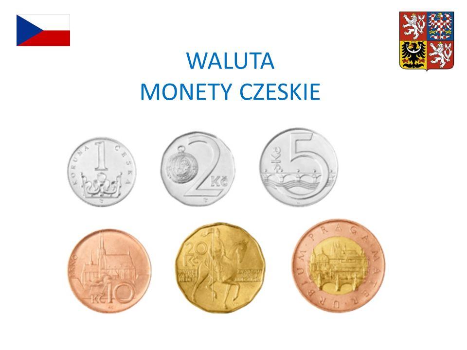 WALUTA MONETY CZESKIE