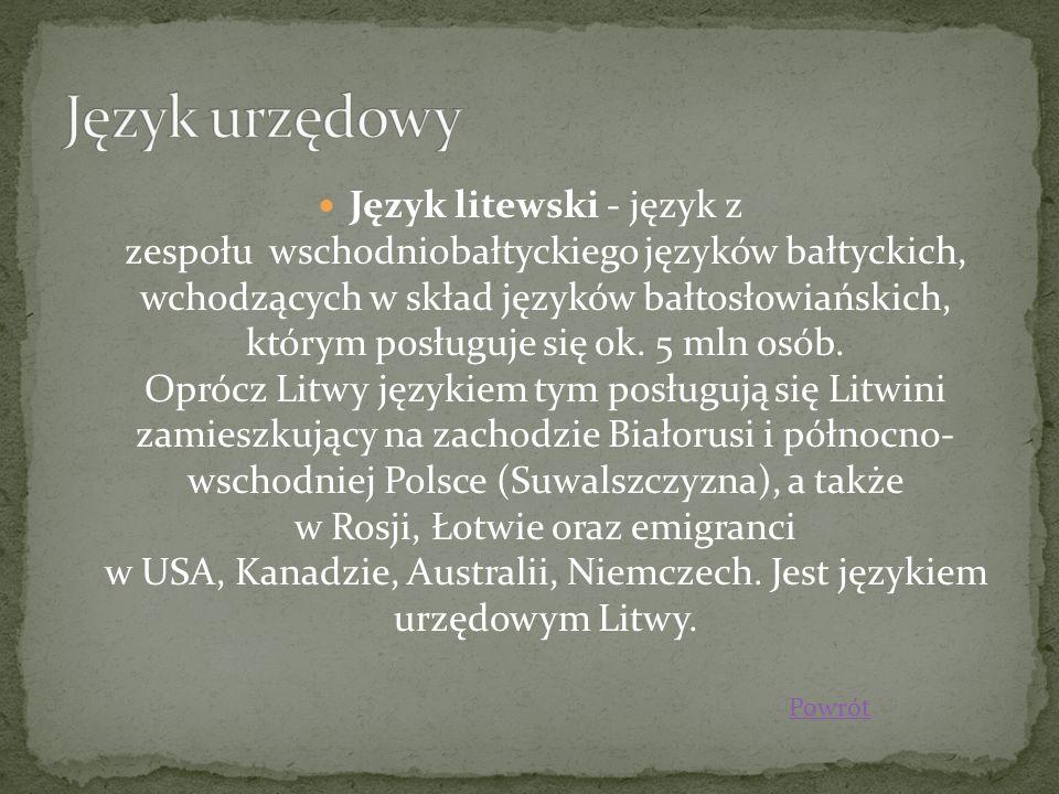 Język urzędowy