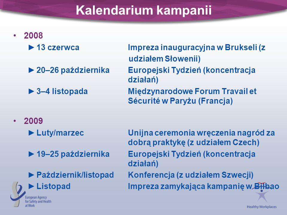 Kalendarium kampanii 2008. 13 czerwca Impreza inauguracyjna w Brukseli (z. udziałem Słowenii)