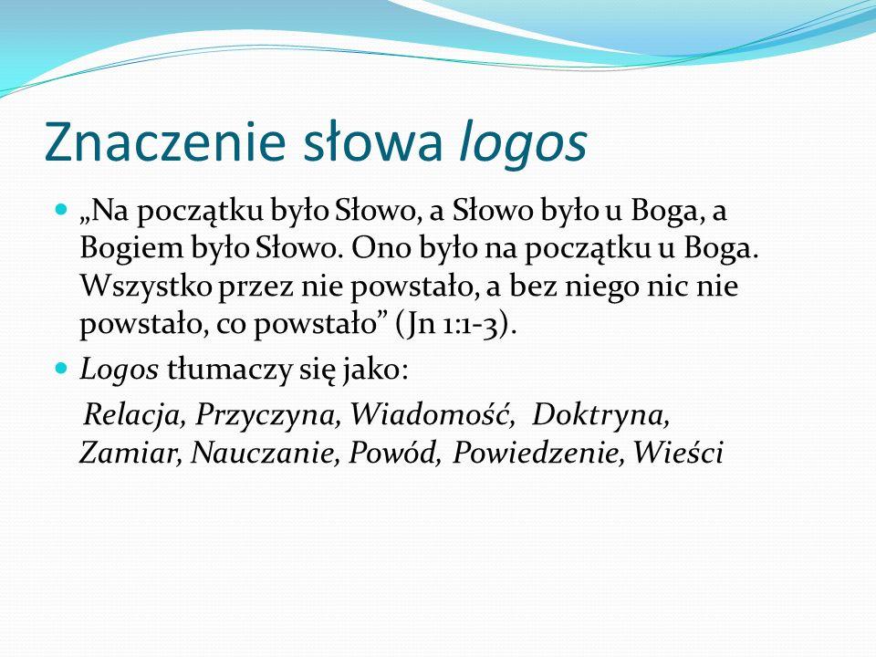 Znaczenie słowa logos