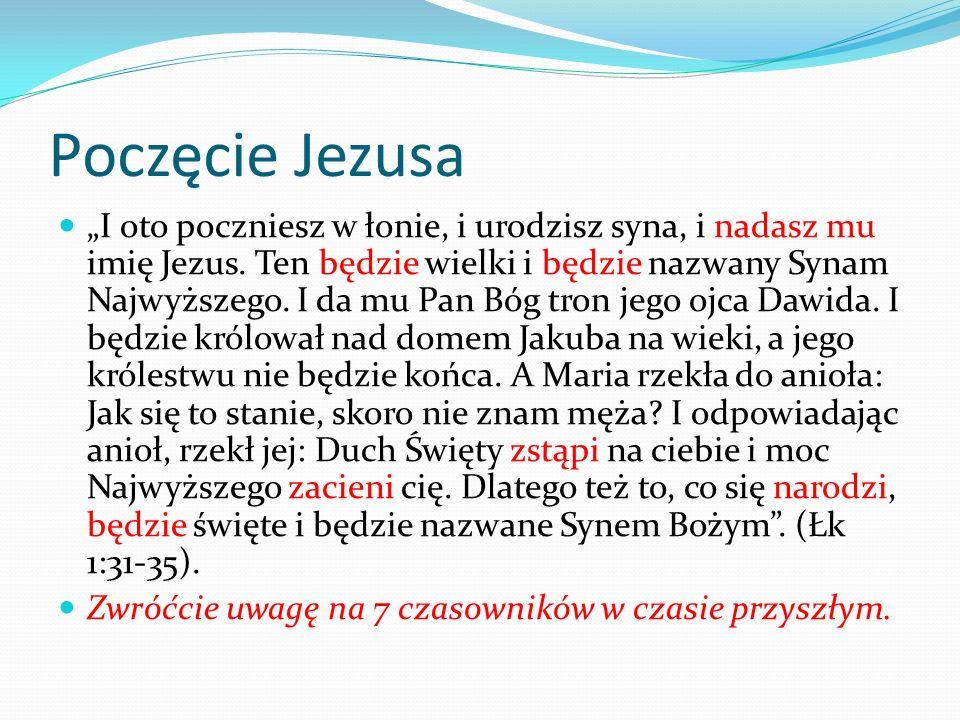 Poczęcie Jezusa