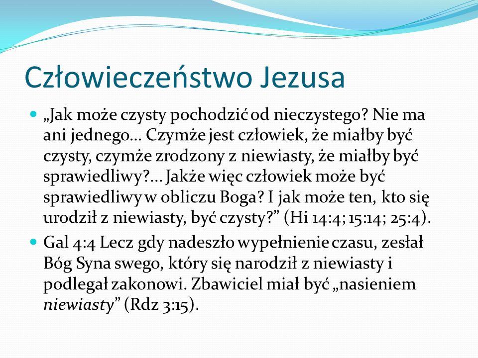Człowieczeństwo Jezusa