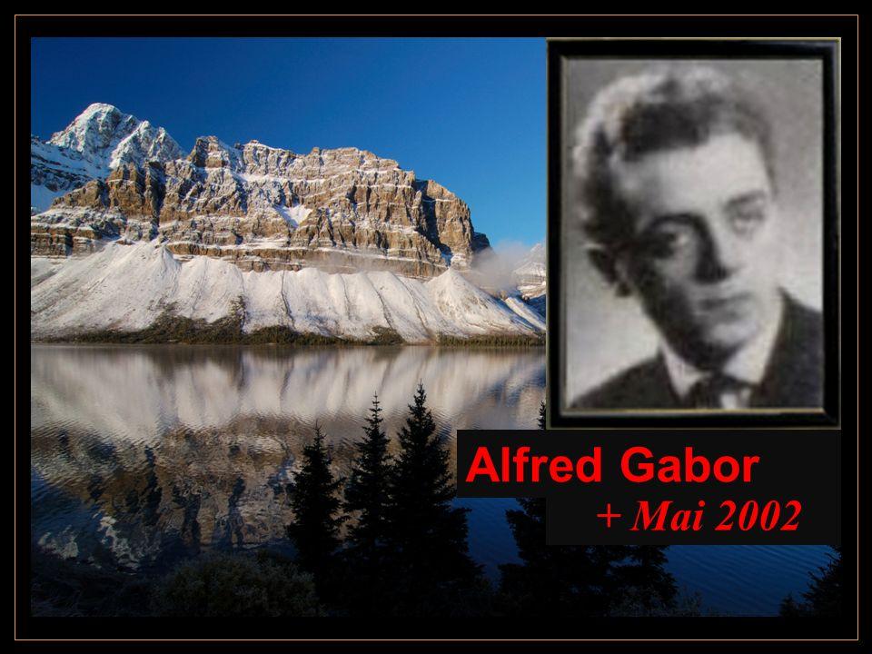 Alfred Gabor + Mai 2002
