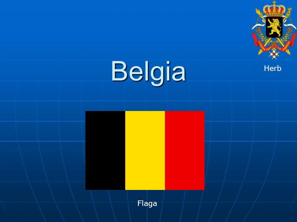 Belgia Herb Flaga