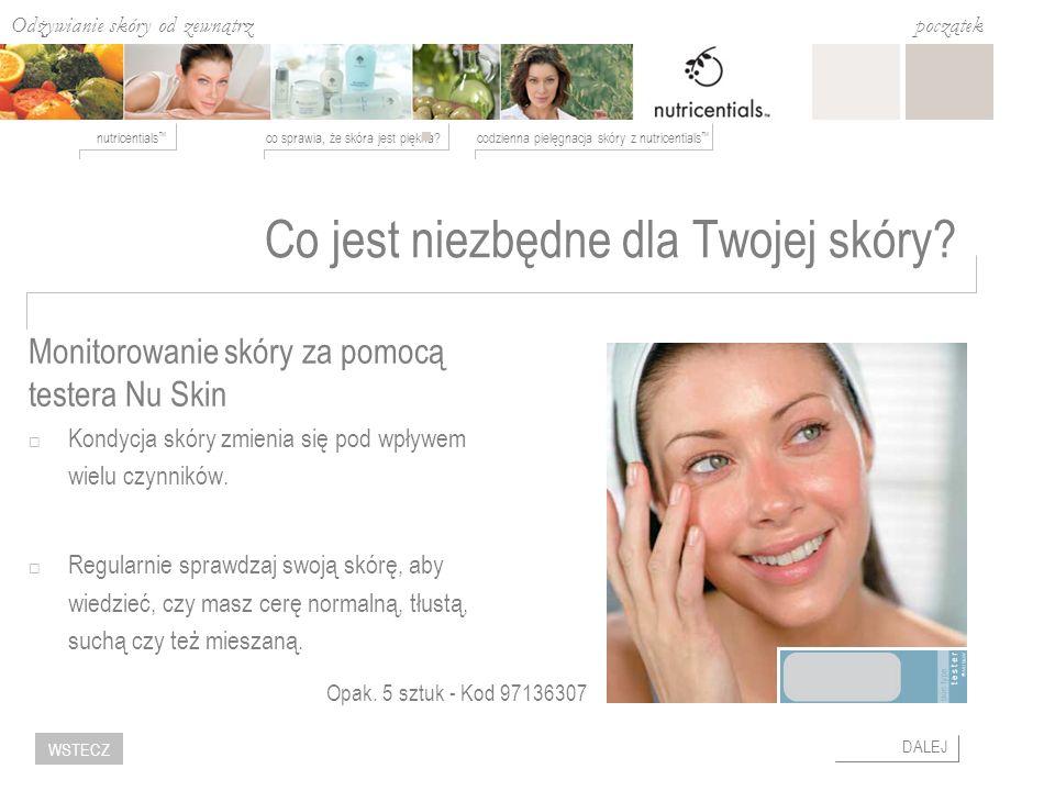 Co jest niezbędne dla Twojej skóry
