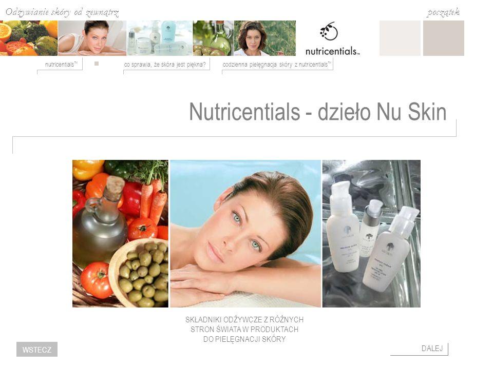 Nutricentials - dzieło Nu Skin