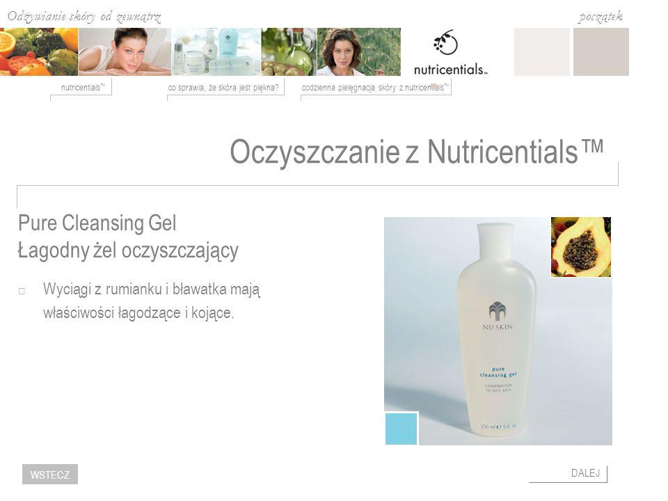 Oczyszczanie z Nutricentials™