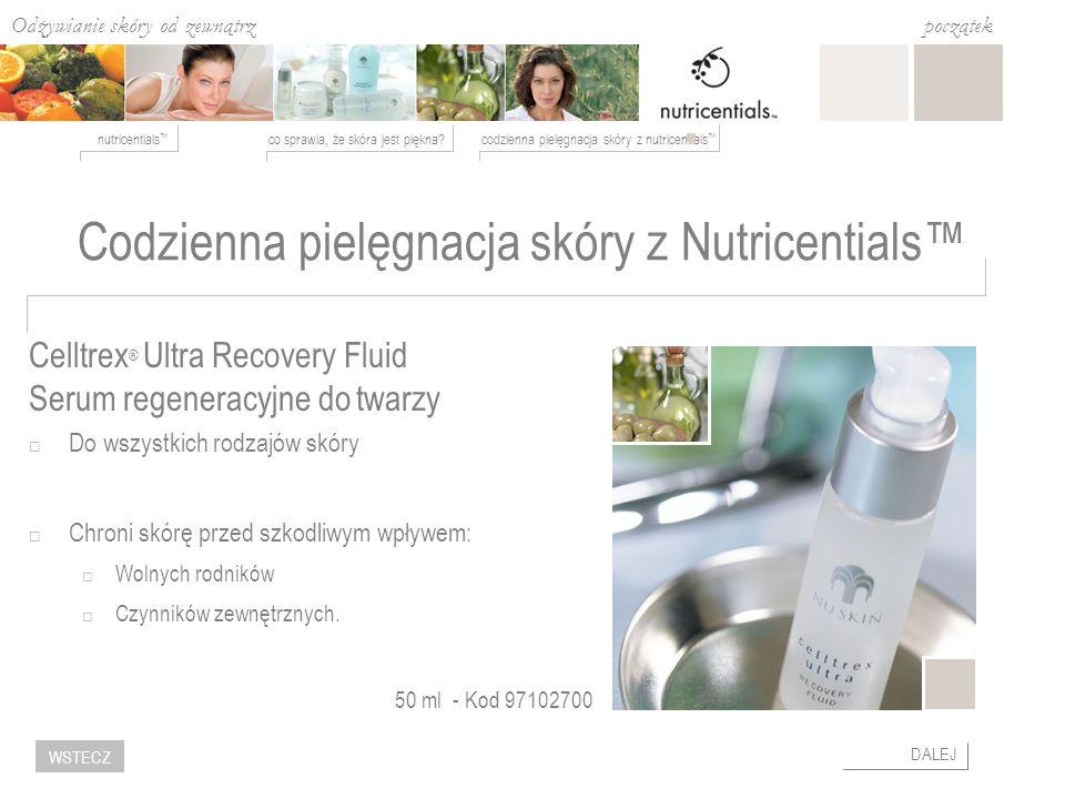 Codzienna pielęgnacja skóry z Nutricentials™