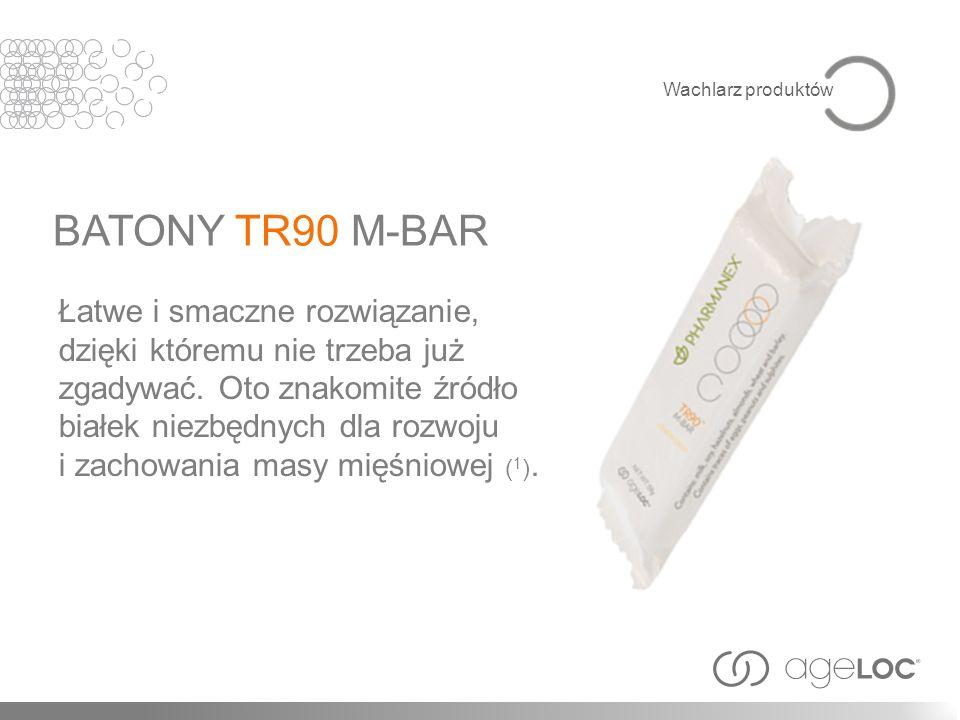 Wachlarz produktów BATONY TR90 M-BAR.