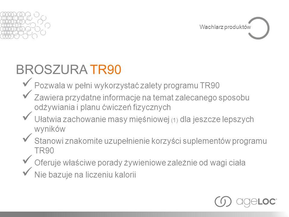 BROSZURA TR90 Pozwala w pełni wykorzystać zalety programu TR90