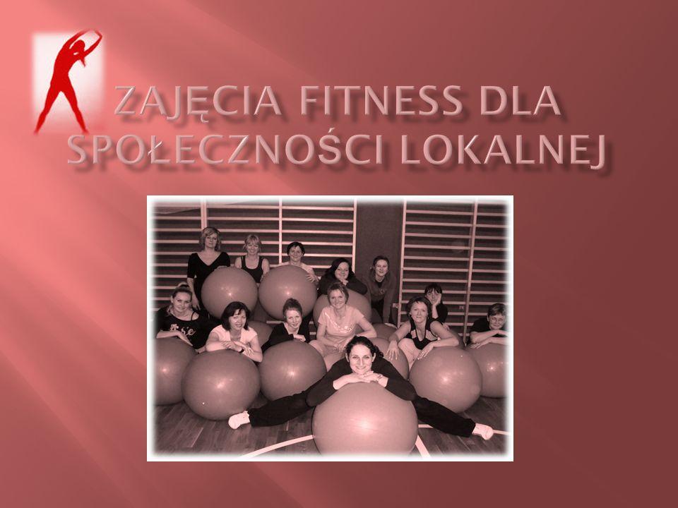 Zajęcia fitness dla społeczności lokalnej