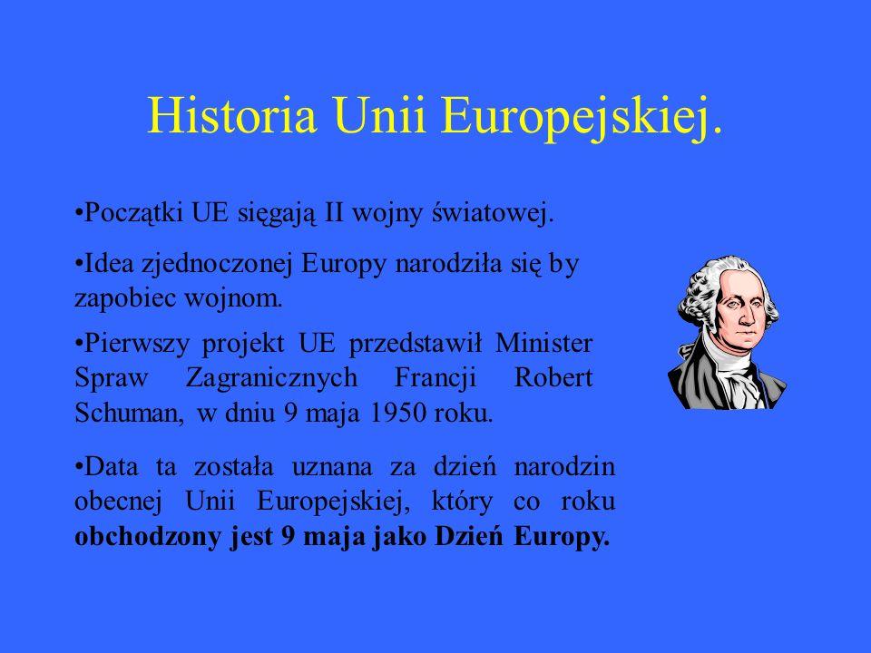 Historia Unii Europejskiej.