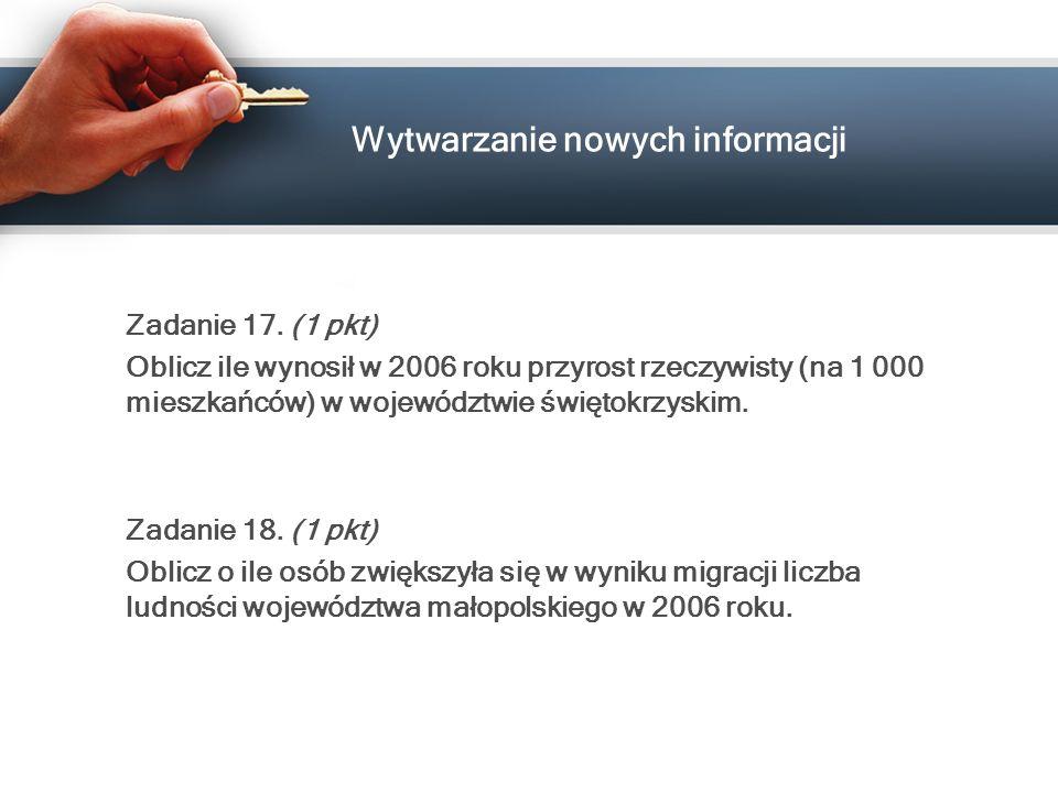 Wytwarzanie nowych informacji