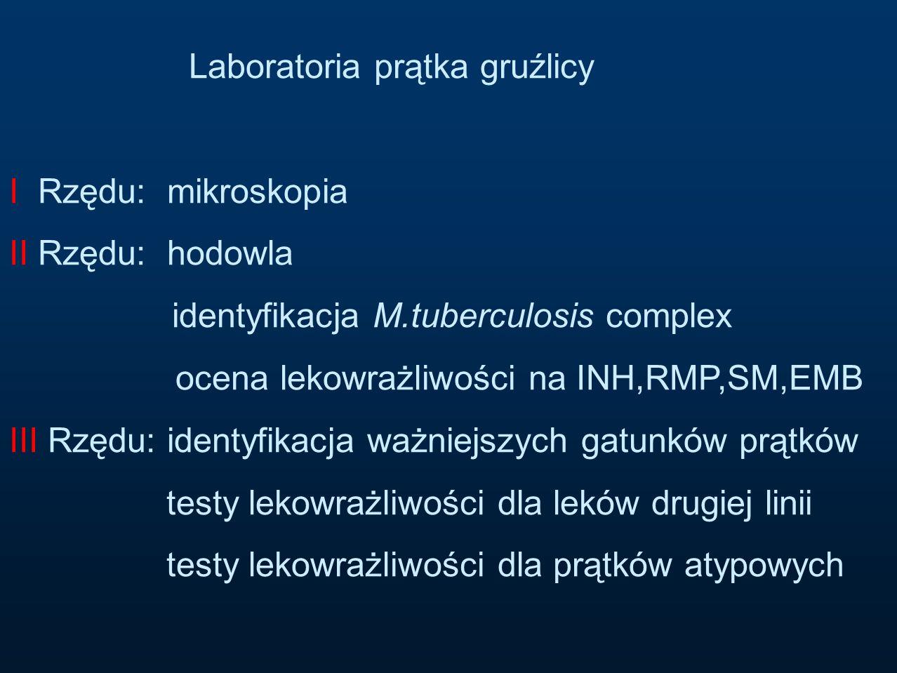 identyfikacja M.tuberculosis complex