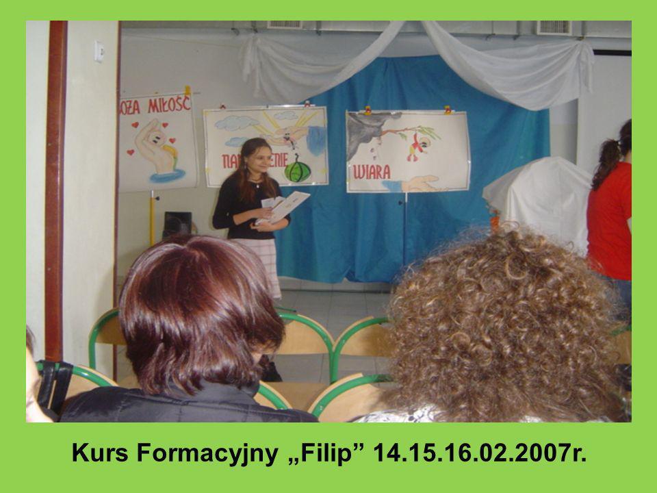 """Kurs Formacyjny """"Filip 14.15.16.02.2007r."""