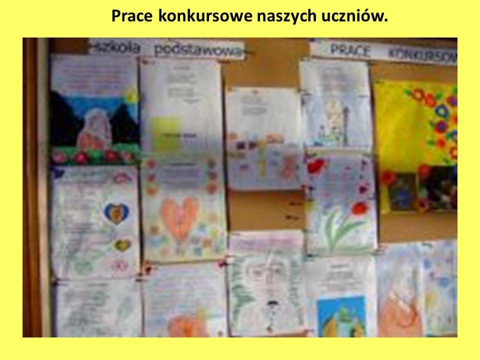 Prace konkursowe naszych uczniów.