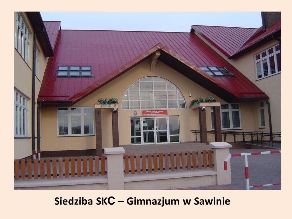 Siedziba SKC – Gimnazjum w Sawinie