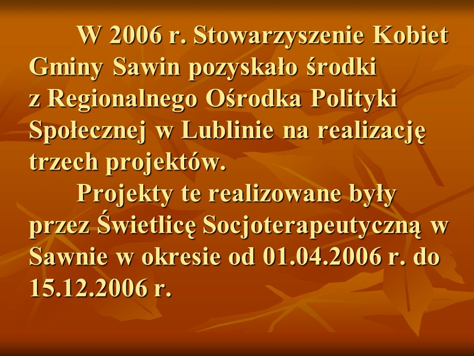 W 2006 r.