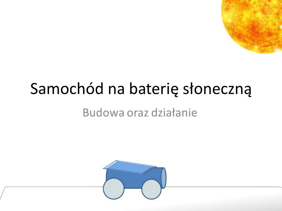 Samochód na baterię słoneczną