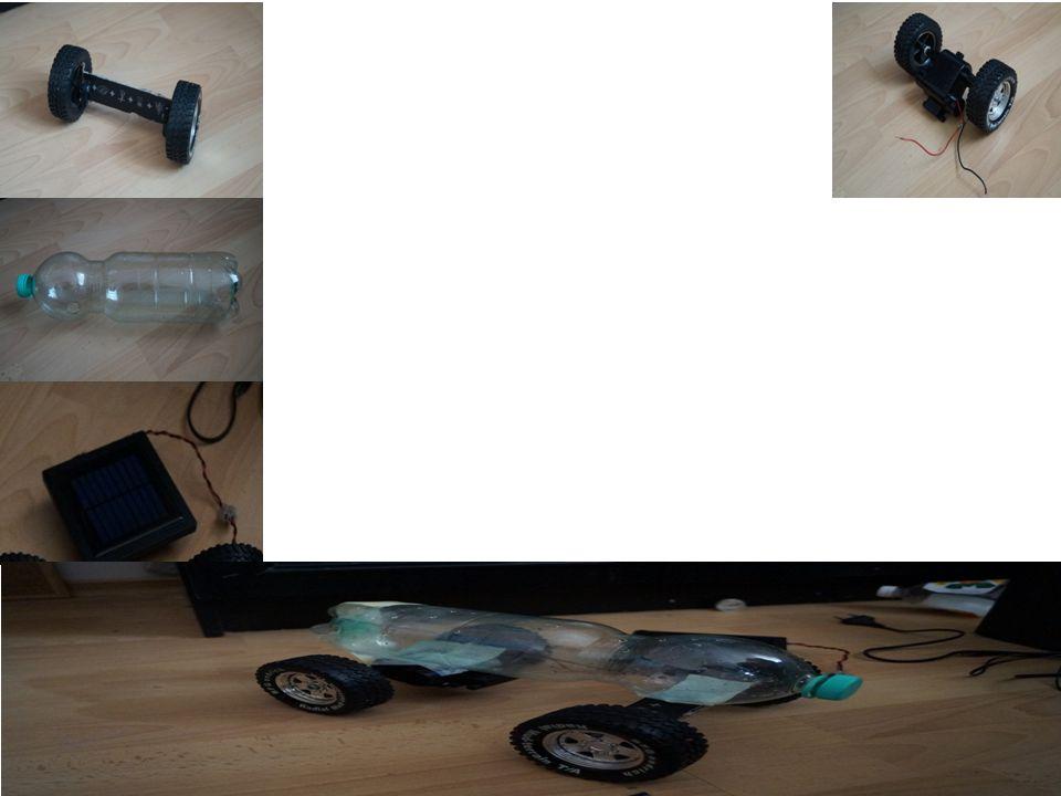 Rama modelu – Wykonana z butelki po wodzie mineralnej