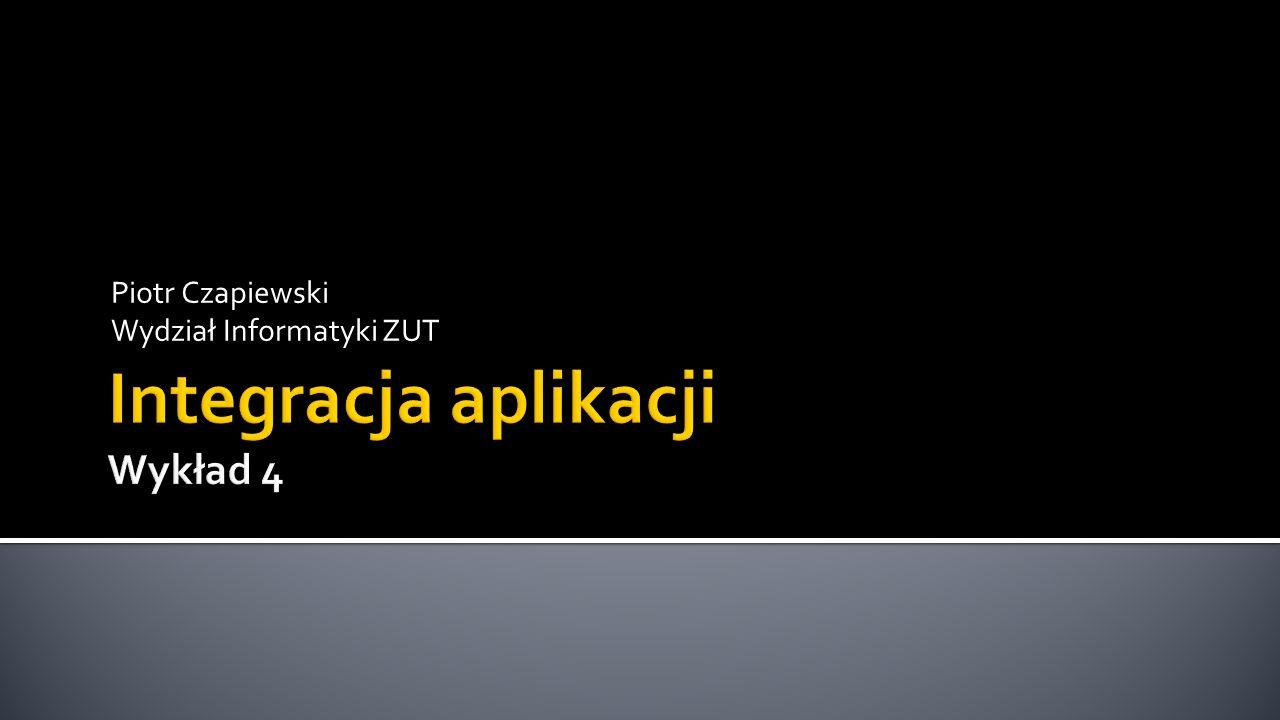 Integracja aplikacji Wykład 4