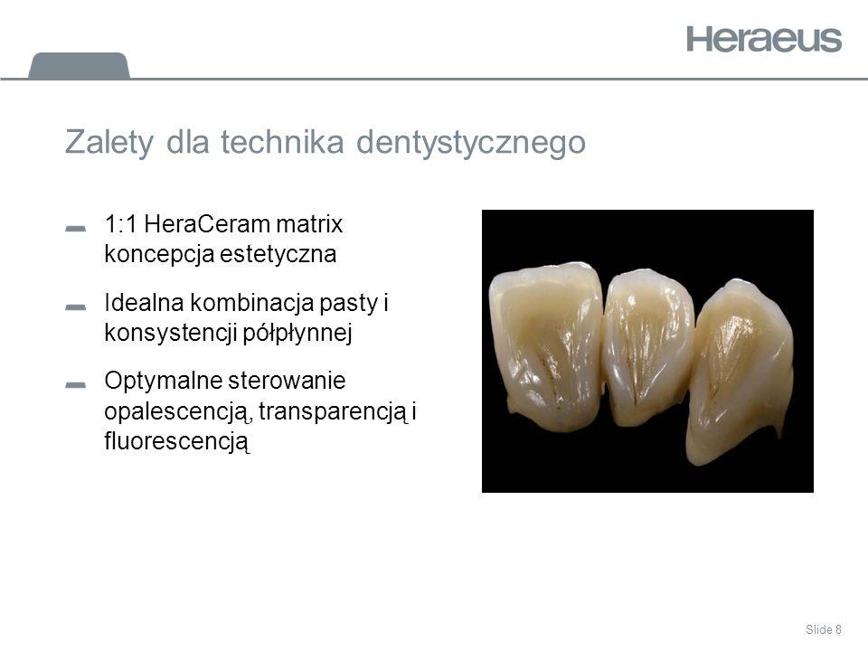 Zalety dla technika dentystycznego