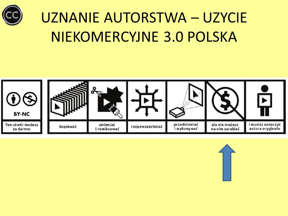 UZNANIE AUTORSTWA – UZYCIE NIEKOMERCYJNE 3.0 POLSKA