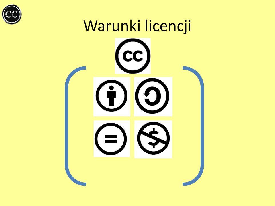 Warunki licencji