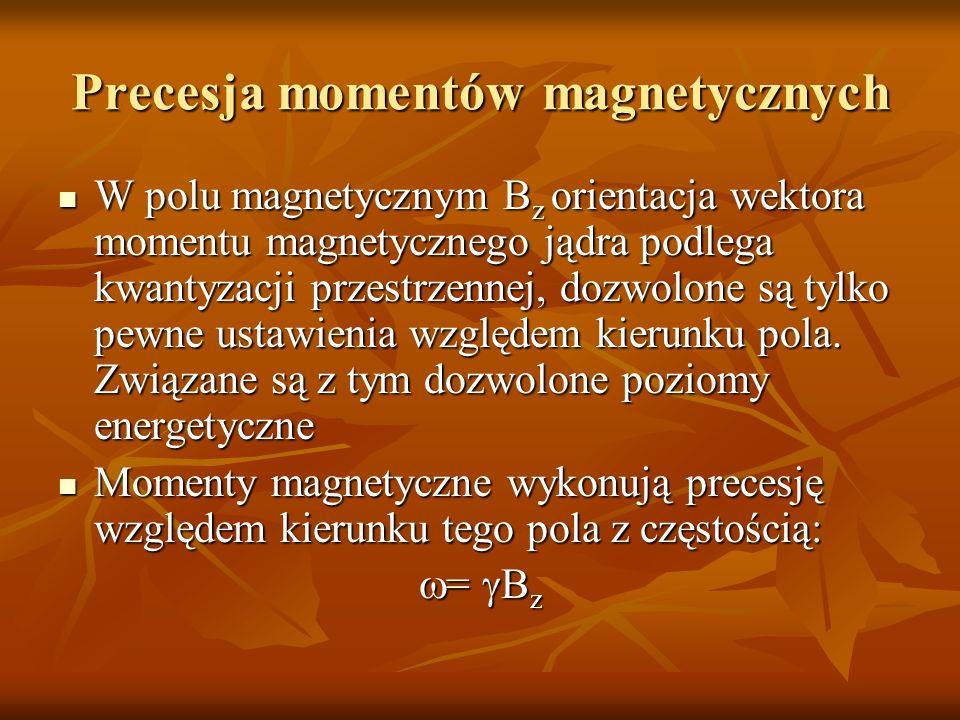 Precesja momentów magnetycznych