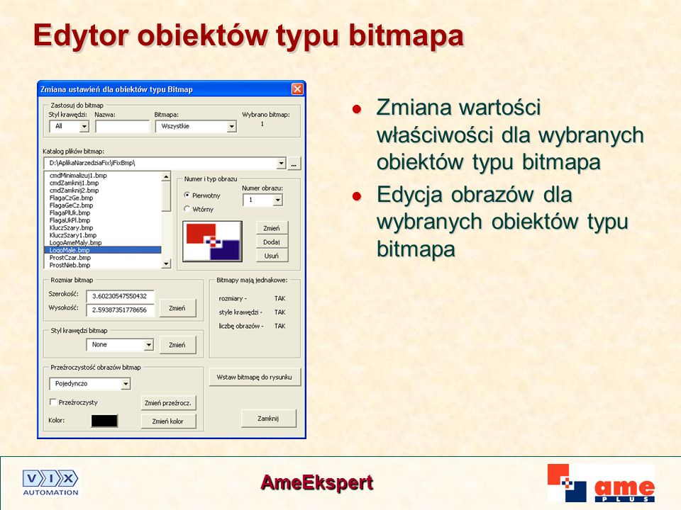 Edytor obiektów typu bitmapa