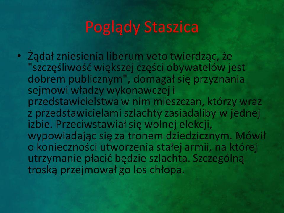 Poglądy Staszica