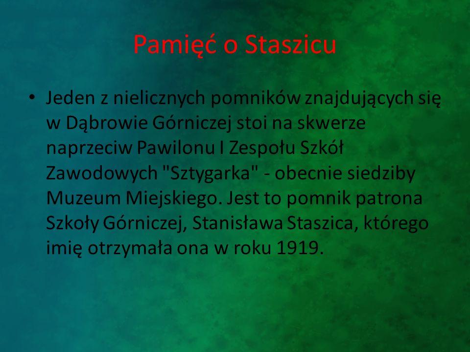 Pamięć o Staszicu