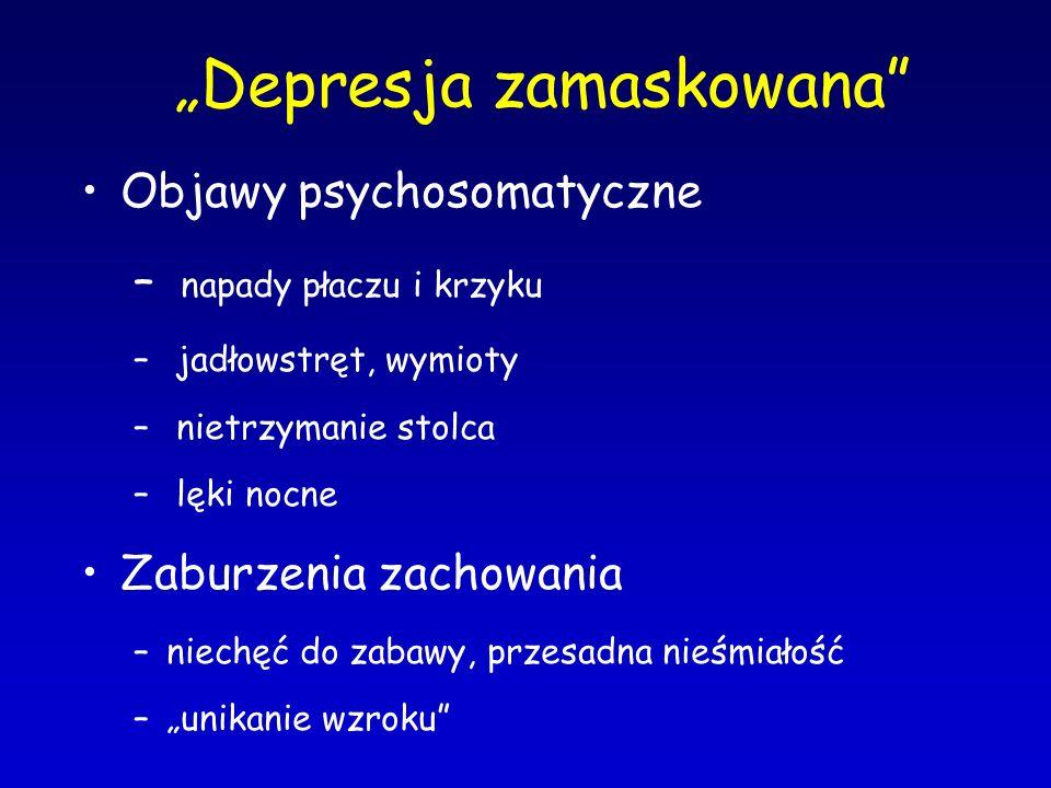 """Depresja zamaskowana"